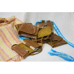 Etno torbica za zelišča, papirčke, vžigalnik...
